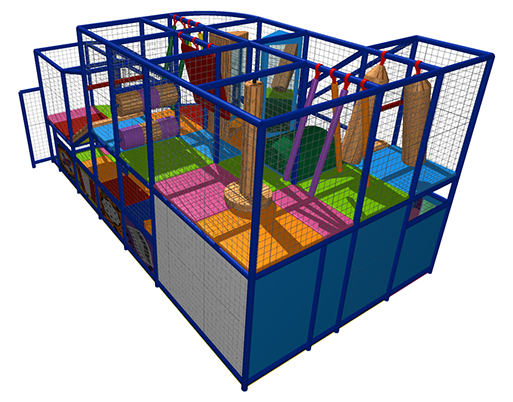 King of the Castles will pack plenty of excitement and adventure into your Soft-Play structures even if they are relatively small designs